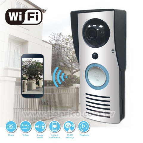 Taiwan Home Security Wireless Wi-Fi Smart Ring Video Doorbell Camera