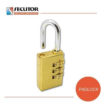 Taiwan Security 4 Digit Resettable Briefcase Combination Padlock