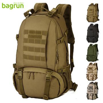 40L Tactical Military Backpack Assault Rucksack Waterproof Bag Pack for  Hunting Camping Trekking Cycling 115071e943a2a