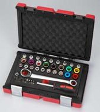 DIY hand tools kits 40 PCS with socket, kits and wrench