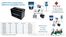 LiFePO4 Power Storage B..