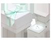 精緻外紙盒包裝搭配清新蝴蝶結的配色