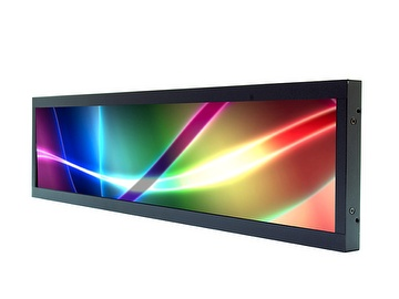 "LITEMAX, Spanpixel, 19""Resizing LCD Display, Brightness is 500 nits, LED backlight, 1920x388 ultra wide aspect ratio 16:3.2"