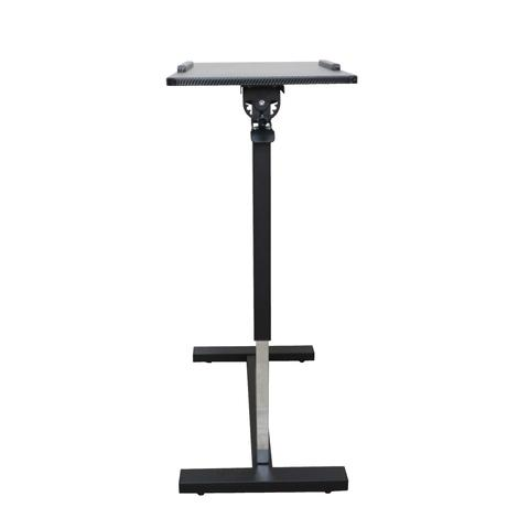 Air Rise Rotating Height-Adjustable Overbed Table