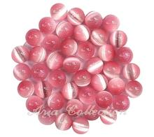 Pink Cat's Eye 6mm Ball