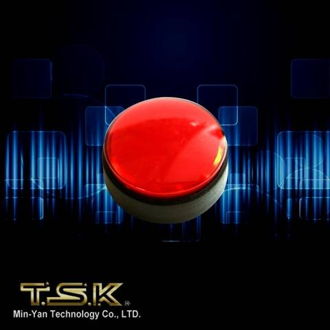TSK Slot KIT: KMM-16 Big Red Button with Micro Switch