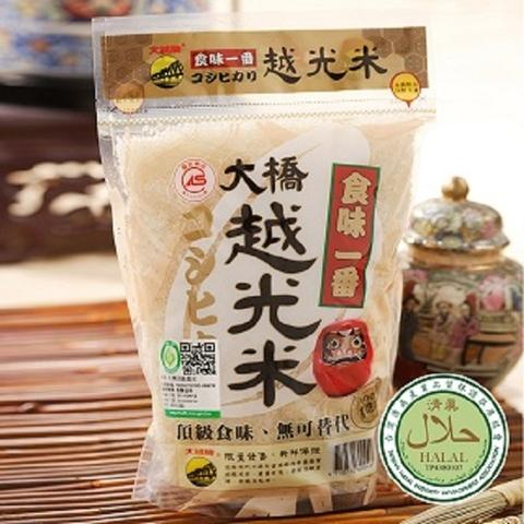 Taiwan Bridge more light rice 1.0 kg