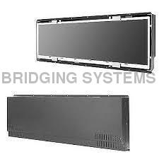 Digital Signage, Big Size LCD Display, Touch Screen Display , Panel PC with Web Cam , RAL color, Safety Glass-BS-PPC