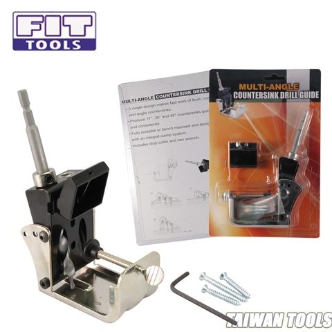 Multi-angle Countersink Drill Guide