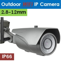 WiFi Outdoor IP Camera, Varifocal
