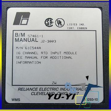 taiwan reliance electric 61c544 a 61c544a analog input rtd 802820 rh taiwantrade com reliance automax manual