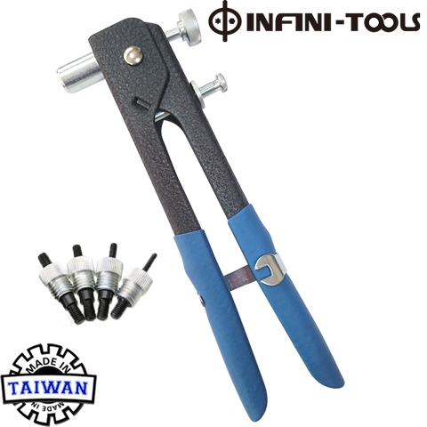 Taiwan Heavy Duty Thread Hand Riveter Nut Gun, Rivet Nut Tool M3