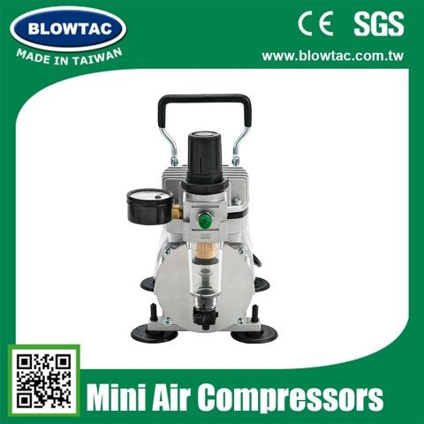 TC-20S Double Cylinders Mini Air Compressors with Tank