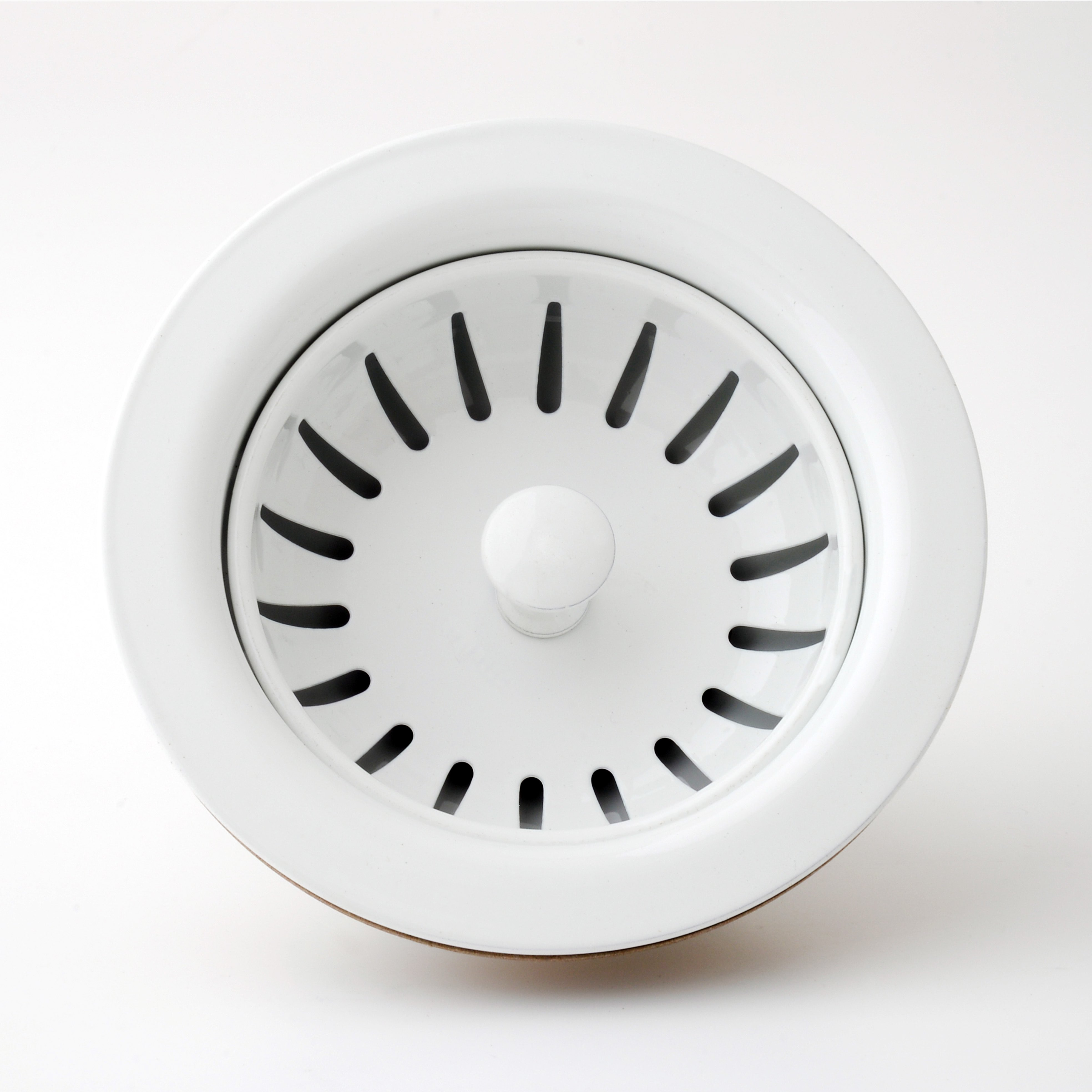 Picture of: Standard 3 1 2 White Kitchen Sink Drain Stopper Sink Basket Taiwantrade Com