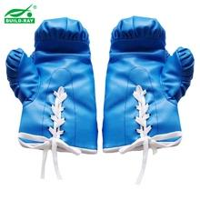 8 Oz PVC Leather Filled With Real Cotton Boxing Glove