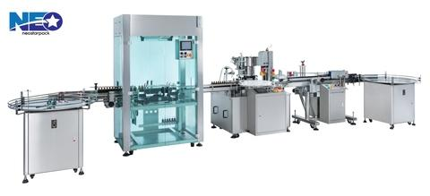Bottle RInsing Filling Capping Labeling Product Line for Body Cleanser