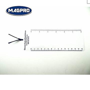 Magnifying Bookmark With  Ruler As Gifts