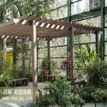 Plastic Wood, Plastic Lumber, Non Wood Plastic Composite Material for Garden Table & Chair, Gazebo, Pergola, Outdoor Furniture