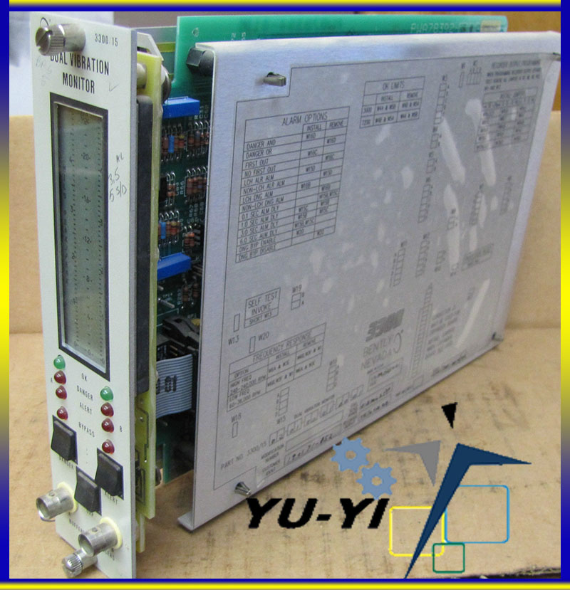 Taiwan Bently Nevada 3300 System Dual Vibration Monitor PLC