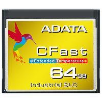 ADATA Embedded Card ISC3E 4GB/8GB/16GB/32GB/64GB Wide Temperature Industrial-Grade SLC CFast Card