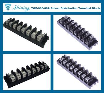 Pleasing Taiwan Electrical Power Terminal Block Panel Mounted 85A 8 Pole Tab Wiring Digital Resources Jonipongeslowmaporg