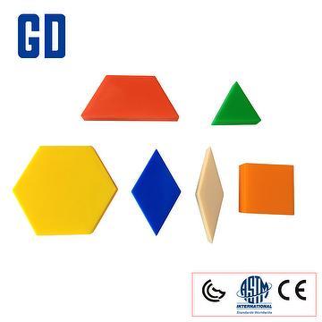Shape Pattern blocks 250 pcs