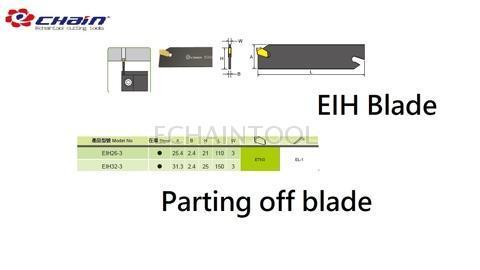 EIH series parting off blade