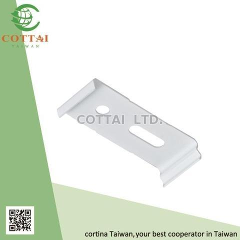 Day and Night Roller Shades Curtain 2 in 1 Bracket for 28mm 38mm Tubes White