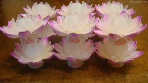 led lotus light