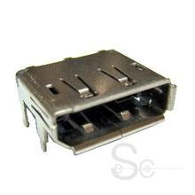 Display Port female SMT Type Connector