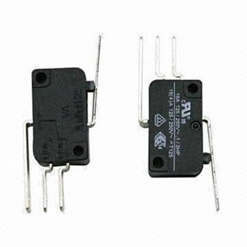 Micro Switch with SPDT, 16A, Quick Terminal Connect #250 x 3