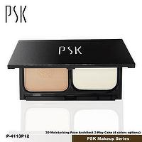 Taiwan PSK Make Up 3D Moisturizing Face Architect 2-Way Cake (P21 Color / P25 Color)