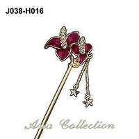 Enamel Hair Pin