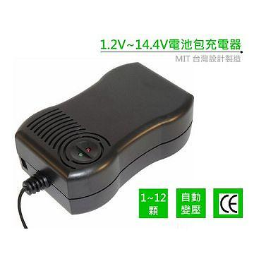 1.2V~14.4V intelligent battery charger