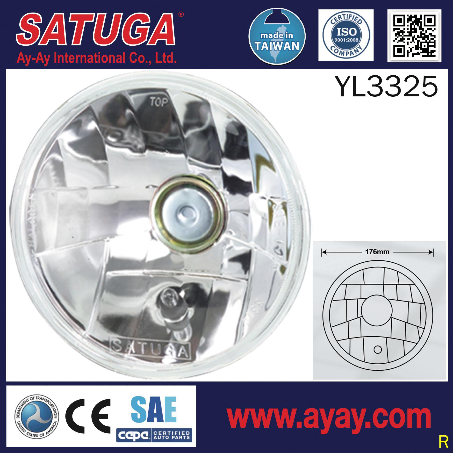 Taiwan Waterproof Headlamp Components Transportation Halogen