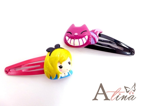 [Atina] Alice in Wonderland Hair Clips, Hair Accessories, Hair Ornaments