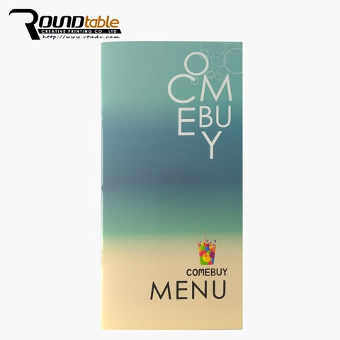 Very much attention Original design personality cut menu holder