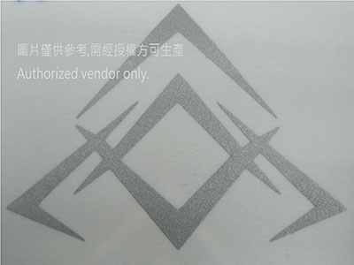 Special pattern reflective Heat Transfer Label