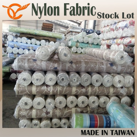 Taiwan Top Brand Check Cotton Nylon Yarn Dyed Fabric Remnant Fabric
