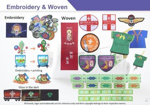 Woven Patch Badge Gift Souvenir Promotion