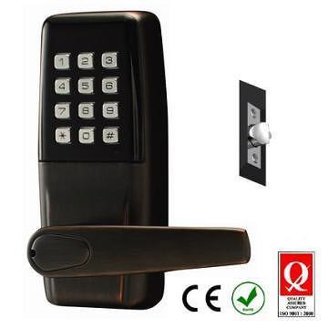 digital office door handle locks. Keypad Door Lock, Digital Code Input Keyless Smart Electronic Home Security And Hardware Product, Latest Technology, Office Handle Locks