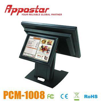 Appostar POS Monitor PCM1008 Rear View