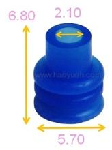 HY9003 (024622), Wire Seals For Wire Harness, Blue, WOCO.