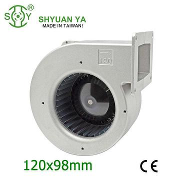 Small industrial centrifugal blower fan
