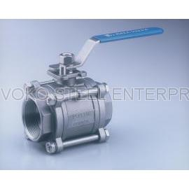 Stainless Steel 3-PC Ball Valve