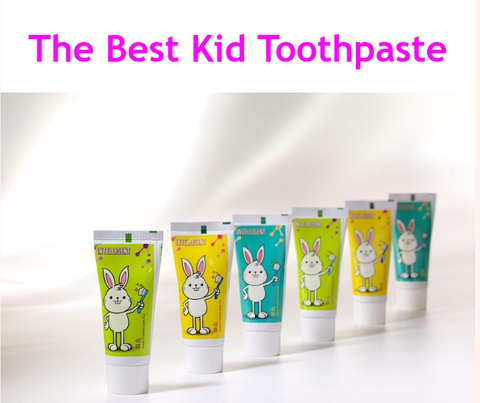 The Best Baby Toothpaste Baby Care Non-Fluoride Toothpaste for Kids