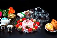 Clear Multifunctional Serving Platter And Cake Plate