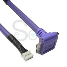 USB3.0 Micro B Male to 10 Pin Housing Flexiable Cable