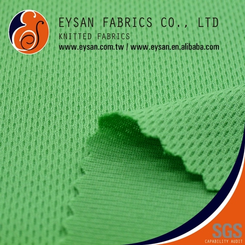 Breathable Birdeye Knit 100% Recycled Polyester ECO Fabric
