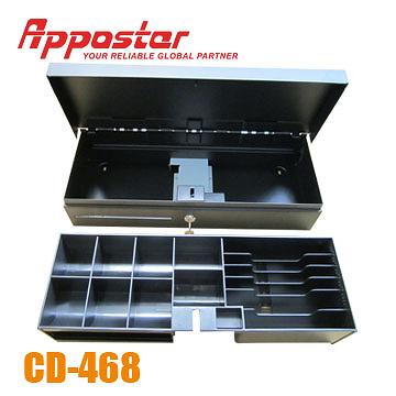 Cash Drawer CD468 open